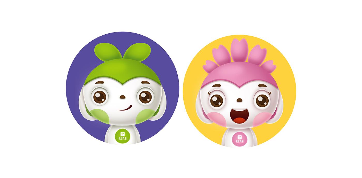 英花外语<a href='http://www.6chuangyi.com/service/katongxingxiang/' title='' style='color:;font-weight:bold'>吉祥物</a>-01.png