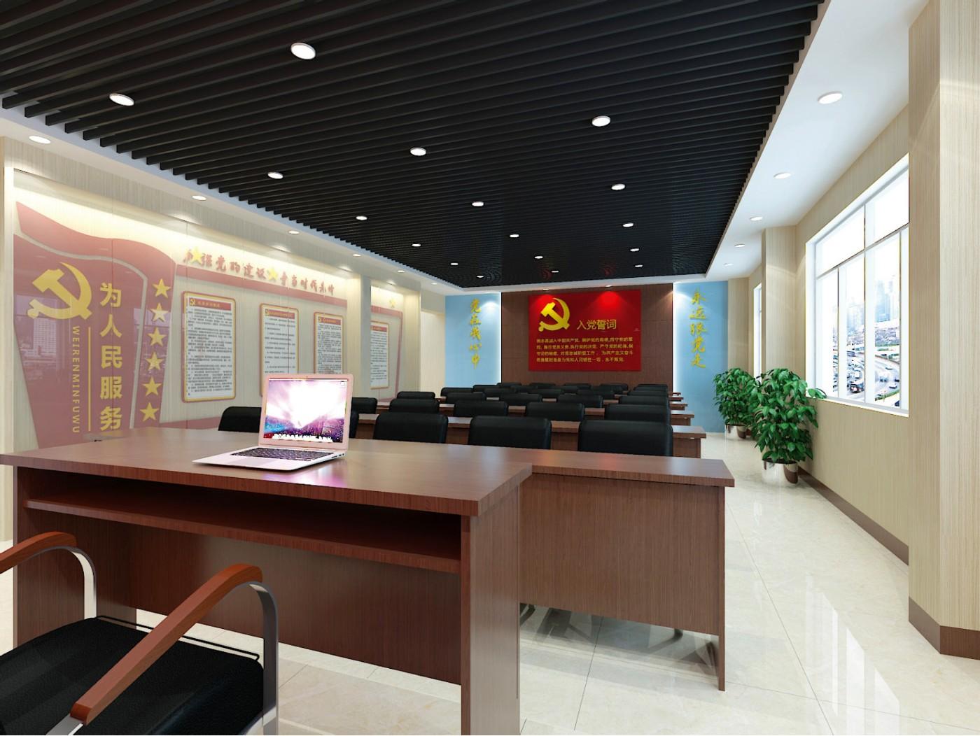 狮江社区2F智慧<a href='http://www.6chuangyi.com/service/kongjiansheji/' title='' style='color:;font-weight:bold'>党建展厅设计</a>05.jpg