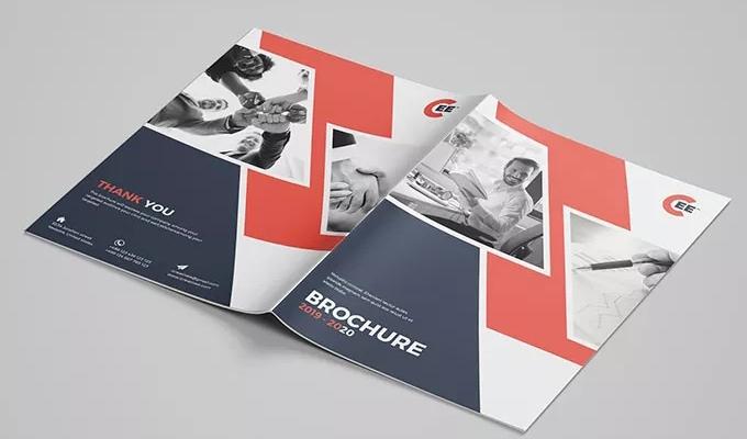 先打造靈活愉悅版面結構的宣傳冊設計