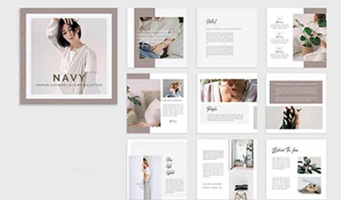 宣傳冊設計之版式造型元素與變化規律