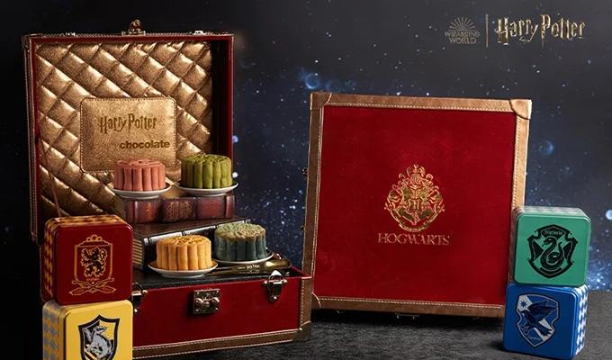 哈利波特2021月饼礼盒惊喜上线!这是有魔法的包装?!