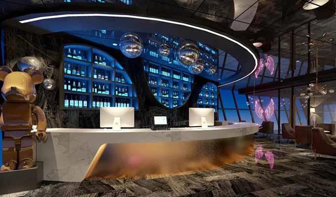 空间设计之电竞酒吧