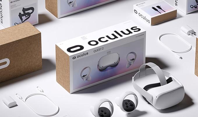 Facebook旗下虚拟现实科技公司Oculus品牌LOGO、企业VI设计、产品包装升级