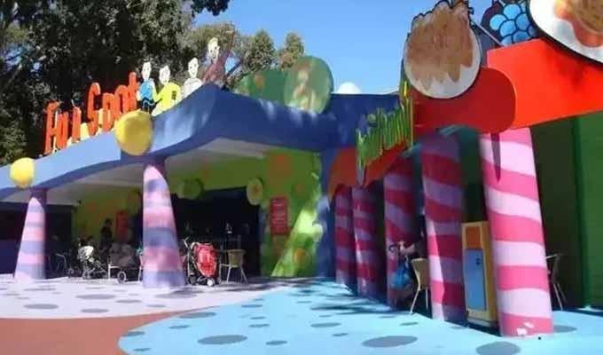幼兒園景觀分區空間設計