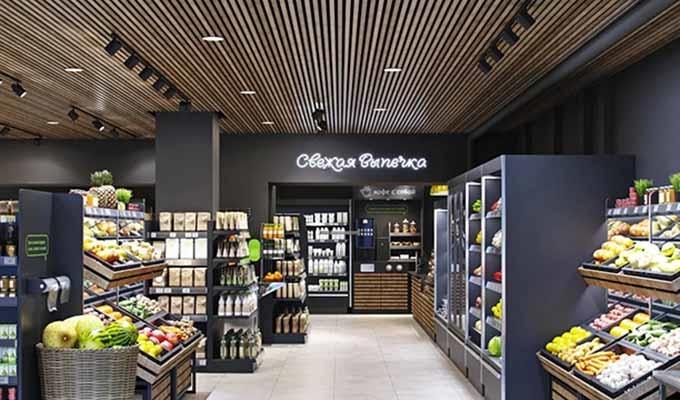 健康食品连锁店的商业空间设计